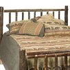 <strong>Hickory Slat Headboard</strong> by Fireside Lodge