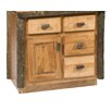 "Fireside Lodge Hickory 36"" Bathroom Vanity Base"
