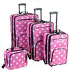 <strong>Rockland</strong> 4 Piece Luggage Set