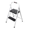 Rubbermaid Folding 2-Step Lightweight Steel Frame Step Stool