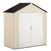 Rubbermaid 6.75 ft. W X 3.25 ft. D Resin Storage Shed