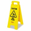 Rubbermaid Commercial Caution Wet Floor Floor Sign