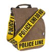 Police Line Do Not Cross Utility Messenger Bag