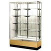 "Streamline 60"" x 15"" Trophy Case with Panel Back"