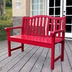 Shine Company Inc. Belfort Wooden Garden Bench