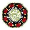 """Certified International Classic Rose 13"""" Charger Round Plate"""