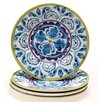 "Certified International Mood Indigo 8.75"" Salad Plate (Set of 4)"