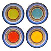 "<strong>Certified International</strong> Tequila Sunrise 11"" Dinner Plate (Set of 4)"