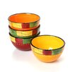 Caliente by Joy Hall Ice Cream Bowl (Set of 4)