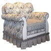 <strong>Angel Song</strong> Toile Black Adult Empire Glider Rocker
