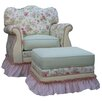 <strong>Angel Song</strong> English Bouquet Adult Empire Glider Rocker