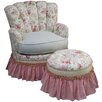 <strong>Angel Song</strong> English Bouquet Adult Princess Glider Rocker