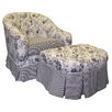 <strong>Toile Black Adult Park Ave Glider Rocker</strong> by Angel Song