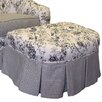 <strong>Toile Black Adult Empire Ottoman</strong> by Angel Song