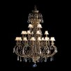 <strong>Kichler</strong> Ravenna Indoor 28 Light Chain Hung Foyer Chandelier