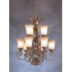 <strong>Kichler</strong> Larissa Indoor 9 Light Chandelette