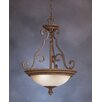 <strong>Kichler</strong> Larissa 3 Light Inverted Pendant