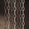 "Kichler 36"" Decorative Chain in Burnished Antique Brass"