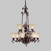 <strong>Wilton 9 Light Chandelier</strong> by Kichler