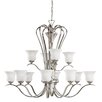 <strong>Kichler</strong> Wedgeport 12 Light Chandelier