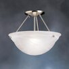 "<strong>Kichler</strong> Swiss Passport 13"" 1 Light Semi Flush Mount"