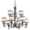 <strong>Kichler</strong> Lacey 9 Light Chandelier