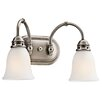 <strong>Durham 2 Light Vanity Light</strong> by Kichler