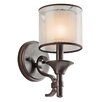 <strong>Family Spaces 1 Light Wall Sconce</strong> by Kichler