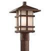 <strong>Cross Creek 1 Light Post Lantern</strong> by Kichler