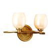 <strong>Corbett Lighting</strong> Cirque  2 Light Vanity Light