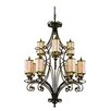 <strong>Corbett Lighting</strong> Montecito 12 Light Chandelier
