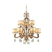 <strong>Corbett Lighting</strong> Roma 9 Light Chandelier
