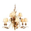 <strong>Corbett Lighting</strong> Tivoli 9 Light Chandelier