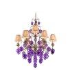Corbett Lighting Venetian 9 Light Chandelier with Glass