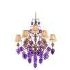 Venetian 9 Light Chandelier with Glass