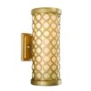<strong>Bangle 2 Light Wall Sconce</strong> by Corbett Lighting