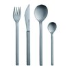 mono Mono-A Edition 50 Collection, 4-Piece Set in Brushed Titanium by Peter Raacke