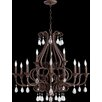 Quorum Anders 12 Light Candle Chandelier