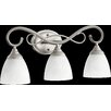 <strong>Powell 3 Light Vanity Light</strong> by Quorum