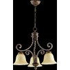 <strong>Tribeca 3 Light Nook Chandelier</strong> by Quorum