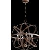 Quorum Celeste 4 Light Candle Chandelier