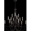 Quorum Brooks 15 Light Candle Chandelier