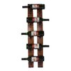 <strong>2 Day Designs, Inc</strong> 5 Bottle Wall Mounted Wine Rack