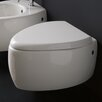 <strong>Moai Wall Mount Elongated 1 Piece Toilet</strong> by Scarabeo by Nameeks