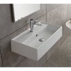 Scarabeo by Nameeks Teorema Ceramic Wall Mounted Vessel Bathroom Sink