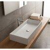 Scarabeo by Nameeks Teorema Ceramic Vessel Bathroom Sink