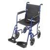 """Briggs Healthcare 19"""" Aluminum Transport Wheelchair"""
