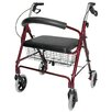 <strong>Briggs Healthcare</strong> Lightweight Extra-Wide Rolling Walker