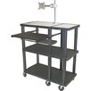 H. Wilson Company Tuffy 70 Series Open Shelf Extra Wide Presentation Station