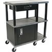 H. Wilson Company Tuffy 70 Series Presentation Station with Drawer Cabinet
